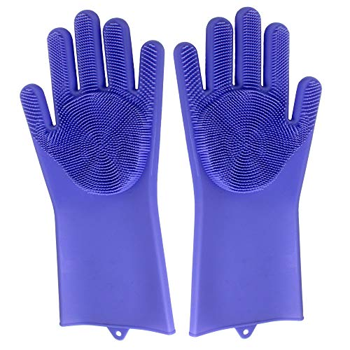 Genius Ideas Magic siliconen handschoenen, herbruikbaar, reiniging van keuken, huisdieren, vaatwasbakken en auto
