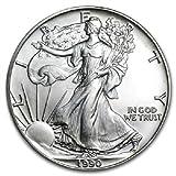 1990 1 oz American Silver Eagle .999 Fine...
