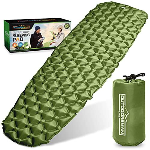 Outdoorsman Lab - Backpacking Sleeping Pad - Ultralight...