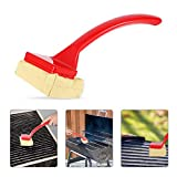 Jaina 1Pcs BBQ Grill Brush, Brushless Grill Cleaning Brush, Portable Grill Cleaning, Simple
