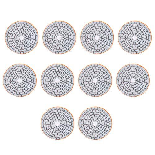 Herramienta de pulido, soporte de pulido duradero 10 piezas de grano 300 para pulido de hormigón
