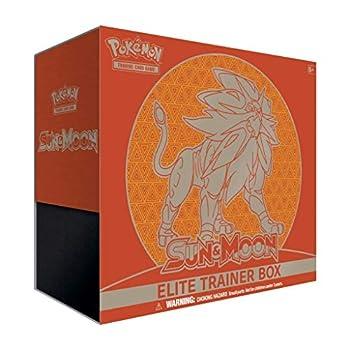 Pokemon TCG  Elite Trainer Box—Sun & Moon  Solgaleo