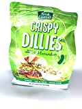 Fresh Gourmet Crispy Dillies Pickle Flavored Fried Cucumbers