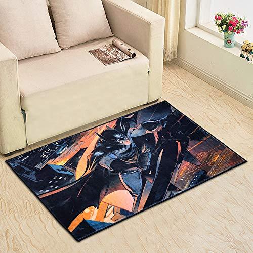 Batman Rug for Bathroom Non-Slip Door Mat