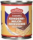 Dovgan Karamell: Gezuckerte und gekochte Kondensmilch