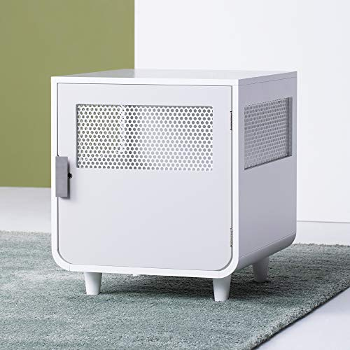 Staart - Radius Wooden Dog Crate - Alpine White - Small Basic Crates
