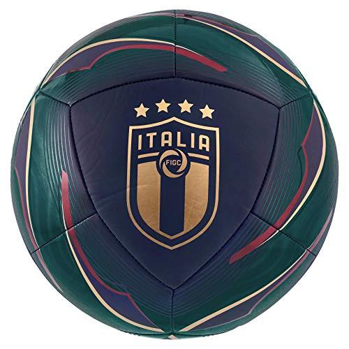 PUMA Pallone FIGC ICON Verde 20/22 Italia SIZE 5 Verde