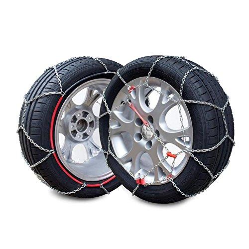 Compatibles ABS et ESP Bottari 18819 Rapid T2 Taille 090 Chaines /à neige 9 mm