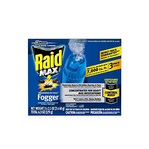 Raid Max Fogger, Insect Killer