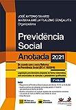 Previdência Social Anotada 3a Ed. (2021) (Portuguese Edition)