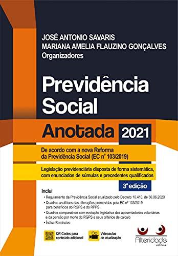 Previdência Social Anotada 3a Ed. (2021)