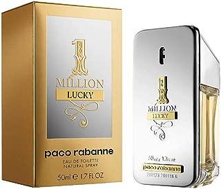1 Million Lucky by Paco Rabanne Eau de Toilette Spray, 1.7 Fl Oz