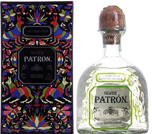 Patrón Patron Tequila Silver Mexican Heritage Limited Edition 2019 40% Vol. 1l in Tinbox - 1000 ml