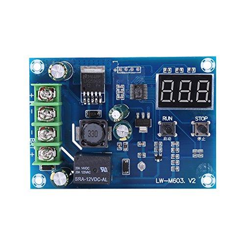 Tablero de protección, módulo de interruptor de cargador de control de carga de batería de litio para celda de almacenamiento de 12V-24V