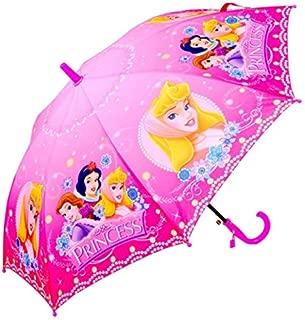Kid's Cartoon Umbrella Girl's Umbrella Brolly Sun Rain (Princess)