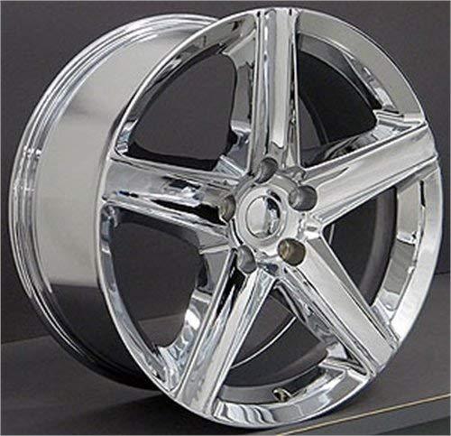 OE Wheels LLC 20 inch Rim Fits Jeep Grand Cherokee Wheel JP06 20x9 Chrome Wheel Hollander 9082