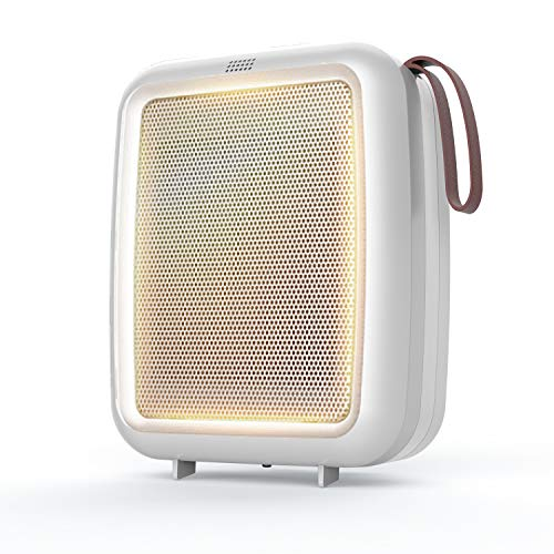 Space Heater for Desk Personal Portable Ceramic Mini Heater With Timer 1-15h, Fast Heating Adjustable Room Heater,Tip-Over Protection Desktop Heater,Quiet Safe Compact Electric Heater for Home Office Heater Room Space