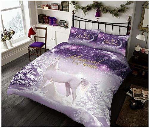ZZYLHS Duvet Cover Bedding Kit For Single Double King Size Bed, Microfiber Duvet Cover, Duvet Cover And Pillowcase