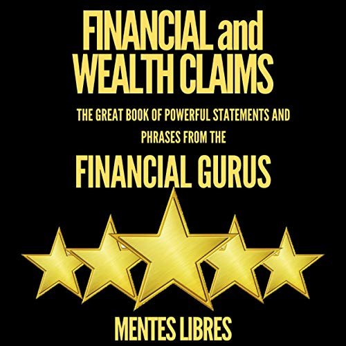 Financial and Wealth Claims cover art