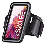 UC-Express Funda de brazalete deportivo compatible con Samsung Galaxy S20 FE, funda protectora para correr