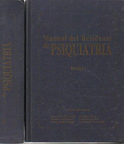 MANUAL DEL RESIDENTE DE PSIQUIATRIA.