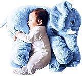 qaz Tamaño Grande60cm Bebé Elefante Bebé Juguete Playmate Calm Doll Baby Toys Elefante...