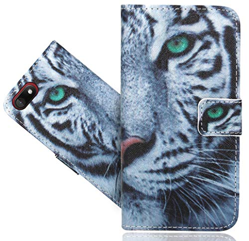 Wiko Sunny 3 Handy Tasche, FoneExpert® Wallet Hülle Flip Cover Hüllen Etui Hülle Ledertasche Lederhülle Schutzhülle Für Wiko Sunny 3