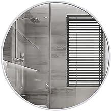 MU Lustro ścienne 19,7 cala duże okrągłe metalowe ramki lustro współczesne naścienne lustra toaletowe do łazienki salonu, ...