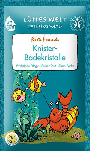 Lüttes Welt Naturkosmetik Badekristalle Beste Freunde Limitierte Edition