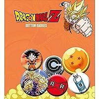 DRAGON BALL ドラゴンボール (放送35周年記念) - Z Mix 6個セット / バッジ 【公式/オフィシャル】