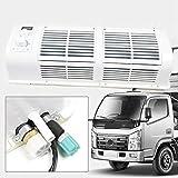 Acondicionador de aire de 12 V para caravana de automóvil Tractor de camión Ventilador de enfriamiento acondicionado de pared NUEVO