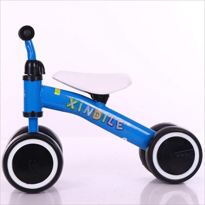 バランスバイク バランスバイク - 1、2歳用キッズ自転車、軽量非空気入りタイヤ、ファーストバイクまたは誕生日プレゼントとして最適、ブルー