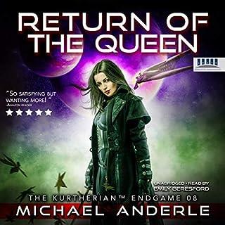 Return of the Queen cover art