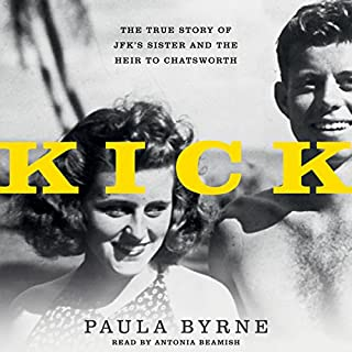 Kick audiobook cover art