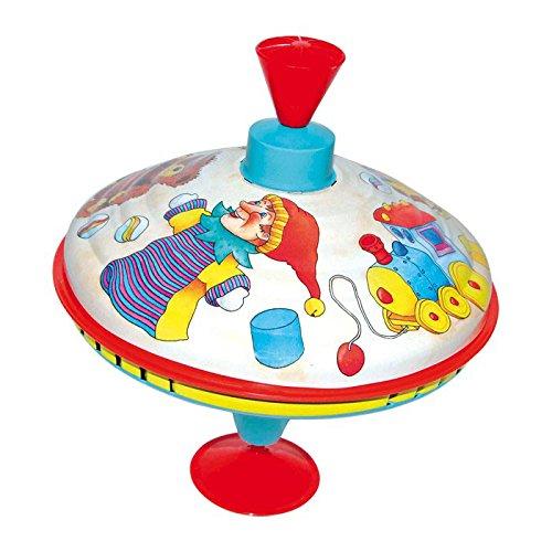 Desconocido Noname-Juegos De Viaje Y De Bolsillo Novedades En Peonzas, Multicolor, 21 cm, 18,5 cm de diámetro (No Name 53035)