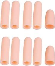 gazechimp 10pcs Tubo De Silicone Manga Cuidados Dedo Protetor Mão Remover A Pele Morta Dura - Pele