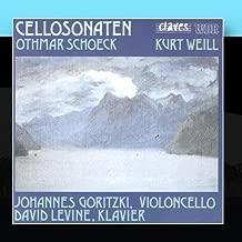 Schoeck / Weill: Cello Sonatas