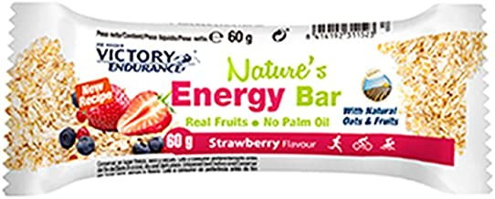 Victory Nature Energy Bar Strawberry 25A x 60grs Estimated Price : £ 29,31