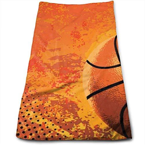 BetterShopDay Basketball3 Super Weiche Polyester Saugfähigen Gesicht Handtuch Schönheit Handtücher Tuch Handtuch Lappen 30X70 cm