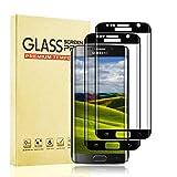 Protector de Pantalla para Samsung Galaxy S7 Edge, Protector de Cristal Templado Premium para Samsung S7 Edge Vidrio Templado [Sin Burbujas] [9H Dureza] [Alta Definicion] [2 Piezas]