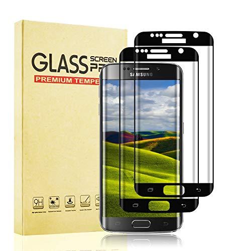 BOBI Pellicola Vetro Temperato per Samsung Galaxy S7 Edge [2 Pezzi] Protezione Schermo, Pellicola Prottetiva Anti Graffio, Anti-Impronte, Durezza 9H