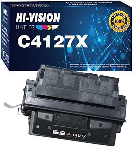 1 Pack HI Vision Compatible HP 27X C4127X 4127X Toner Cartridge for HP Laserjet 4000 4000n 4000t product image