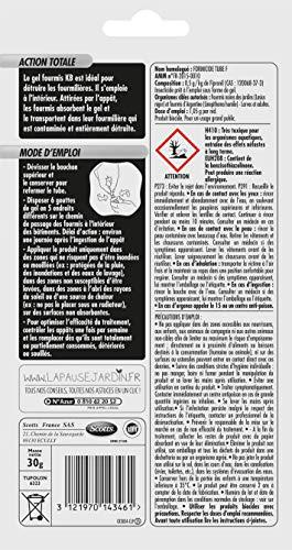 KB Anti Fourmis Tube Gel 30g,Rouge