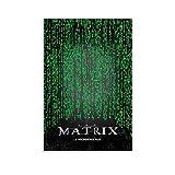 LAIWDNJK Matrix-Poster, dekoratives Gemälde, Leinwand,