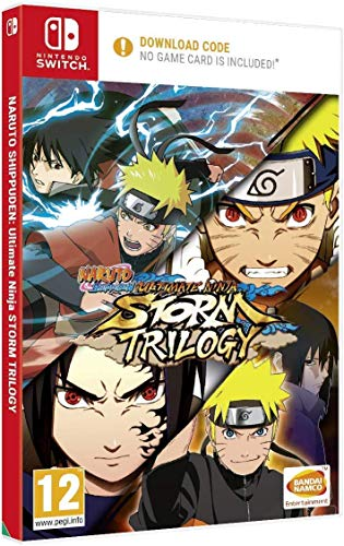Naruto Shippuden: Ultimate Ninja Storm Trilogy (Code in a Box) NSW
