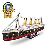 CubicFun Puzzle 3D LED Titanic Grande Barco Buque Embarcacion Kits de Construcción Modelo Juguetes...