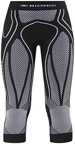 X-Bionic Running Femme Adulte imperméable The Trick Ow Pants Medium L Multicolore - Noir/Blanc