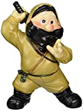Design Toscano QL30259 Garden Gnome Statue - Far East Garden Fighters Ninja - Lawn Gnome,,Full Color