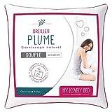 My Lovely Bed - Almohada Natural 60x60cm - Relleno de Pluma...