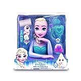 Disney Elsa Busto Deluxe (Giochi Preziosi FRN58000) , Colore/Modello Assortito